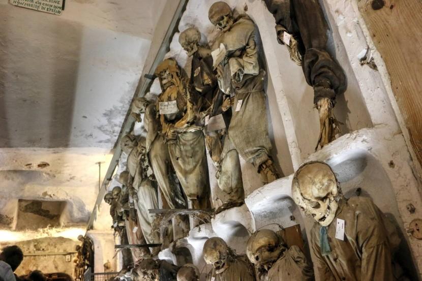 Kapucínské katakomby, Palermo, Itálie