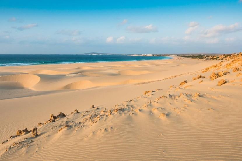 Písečné duny na ostrově Boa Vista