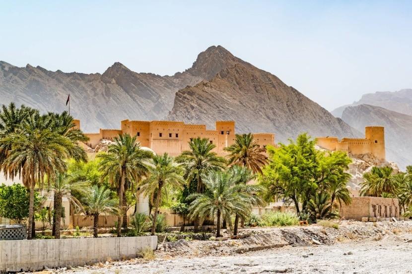 Pevnost Nachal, Omán
