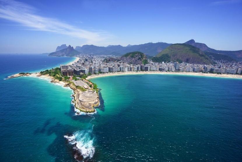 Pobřeží a pláže v Riu