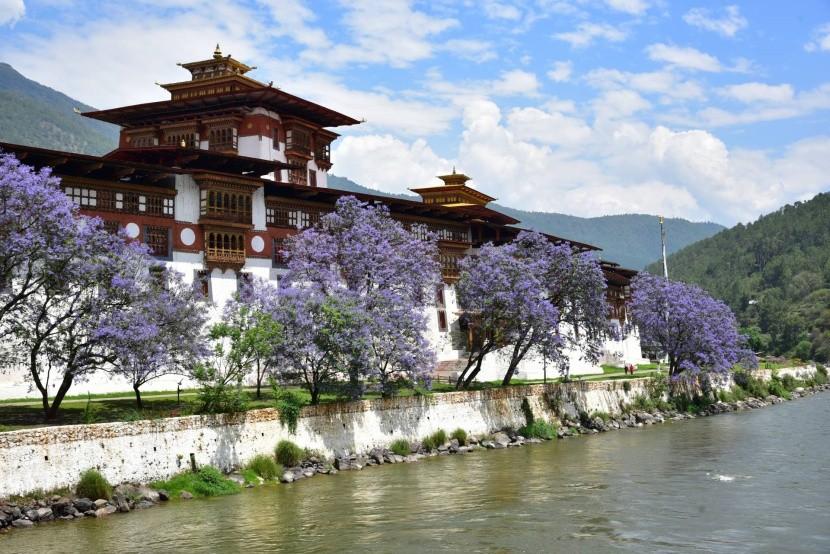 Klášter Punakha Dzong
