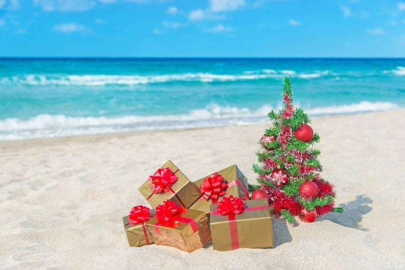 Vánoce u moře