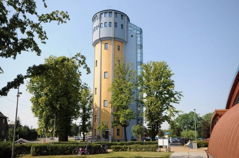 Ubytování ve vodárenské věži