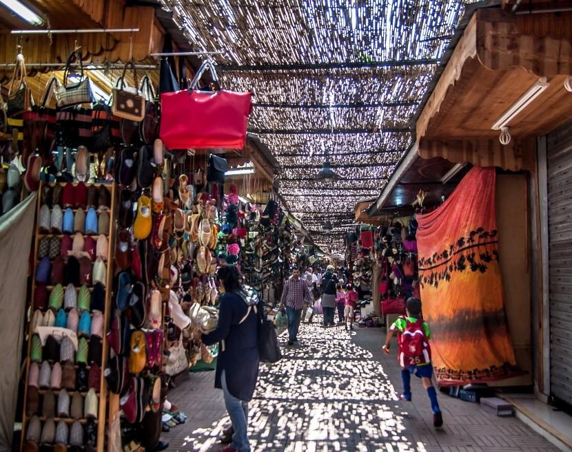 Krámky v Medině, Rabat