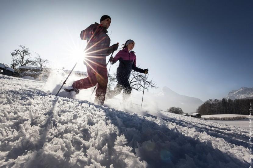 Výlet na sněžnicích