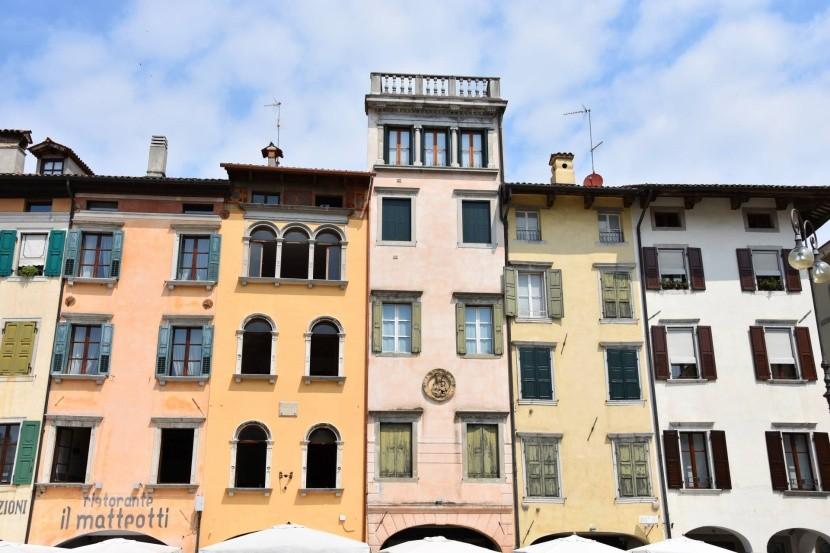 Udinské fasády