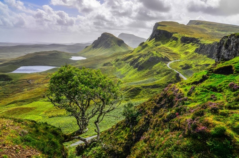 Skotská příroda