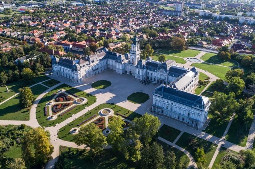Zámek v Keszthely
