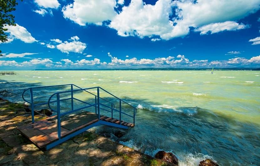 Severní pobřeží Balatonu