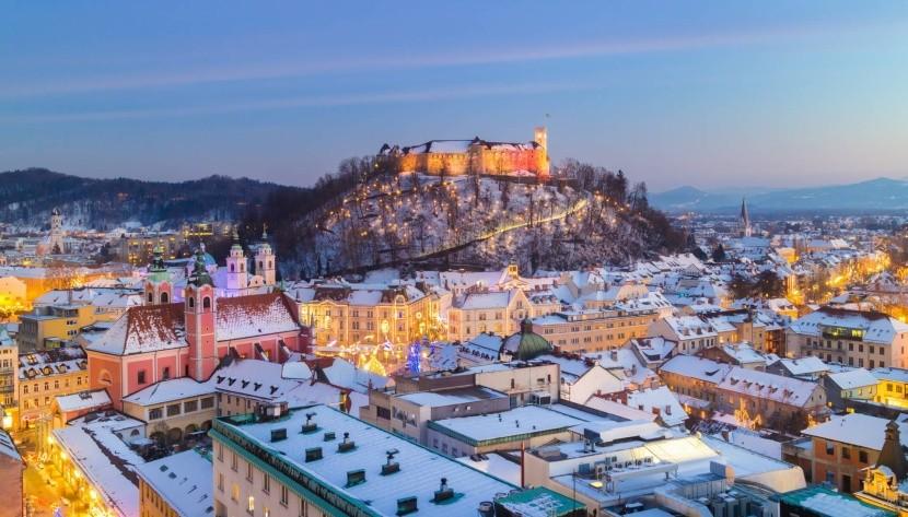 Zimní Lublaň
