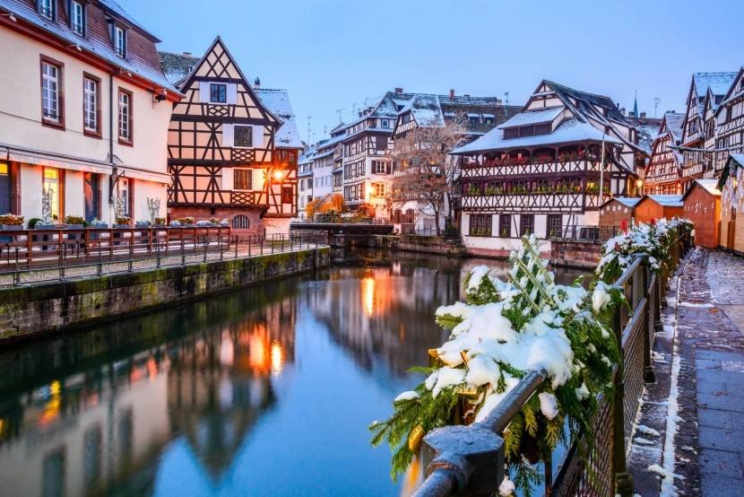 Zimní Štrasburk