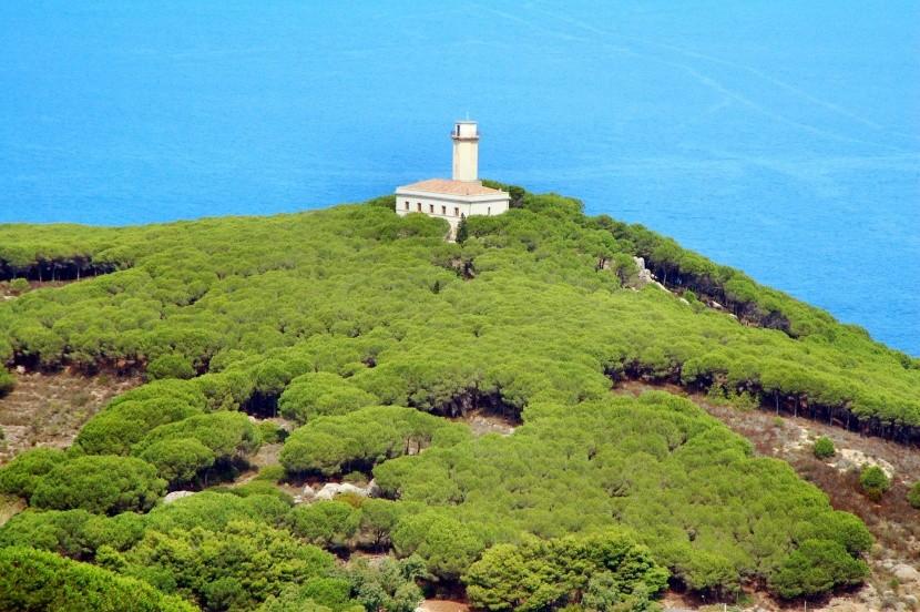 Maják na ostrově Giglio