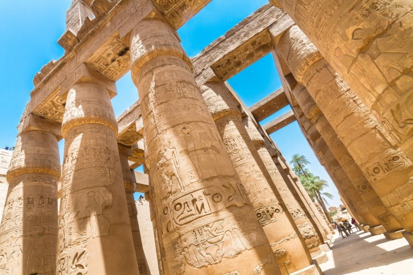 Chrám Karnak v Luxoru