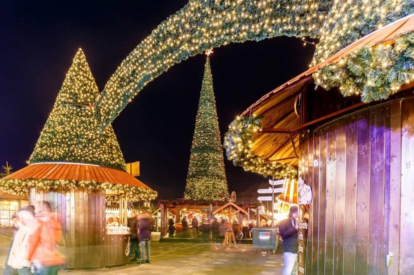 Vánoční trhy v Hyde Parku
