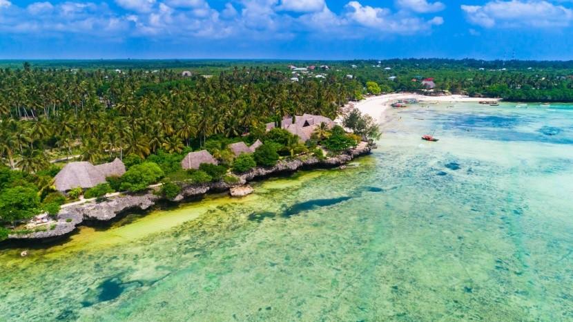 Pláž Kizimkazi, Zanzibar
