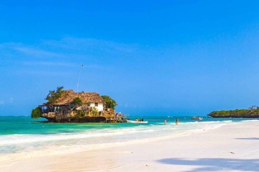 Pláž Pingwe, Zanzibar