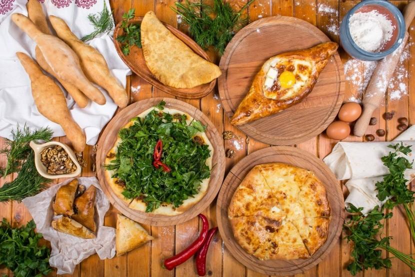 Tradiční gruzínské pečivo