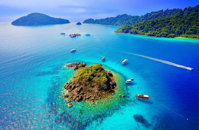 Ostrov Rang, Trat