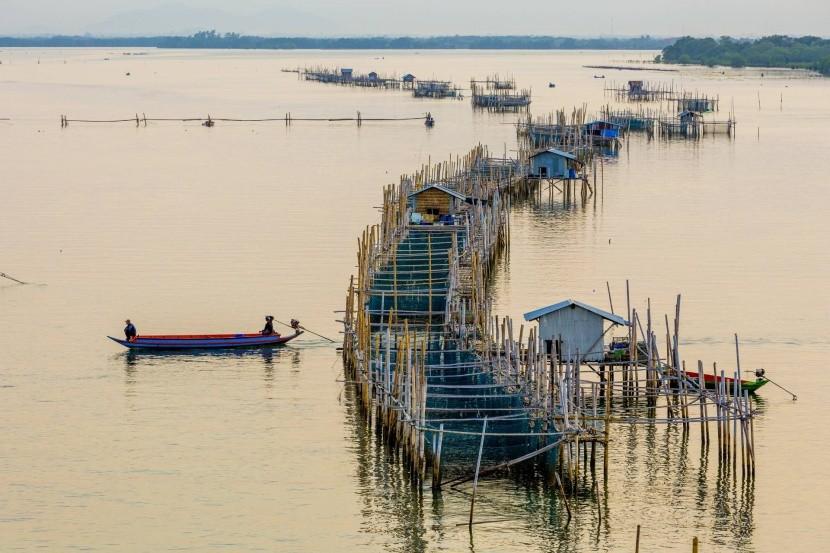 Rybářské domky v Chanthaburi