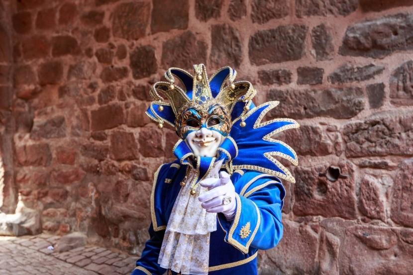 Benátský karneval v Riquewihru