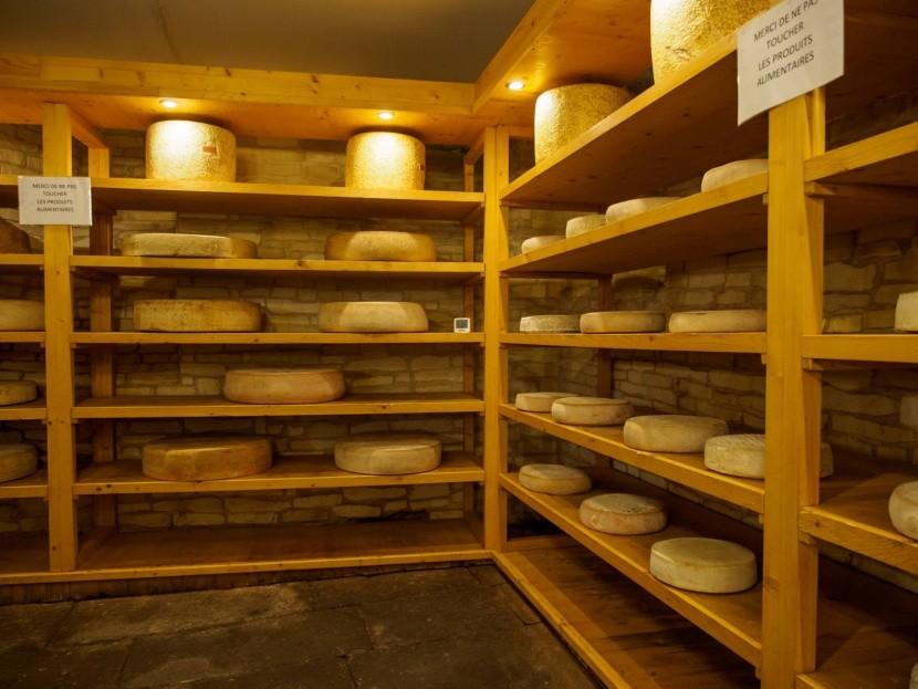 Prodejna sýrů v Riquewihru
