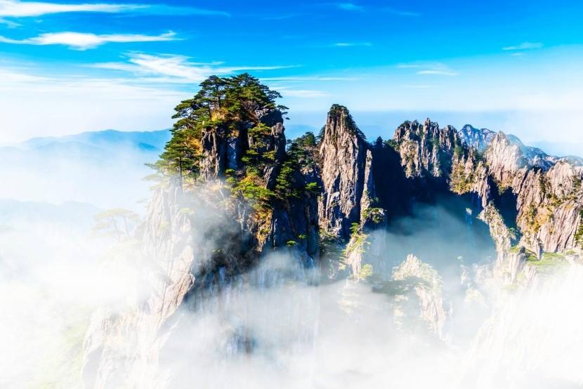 Chuang-šan, Žluté hory