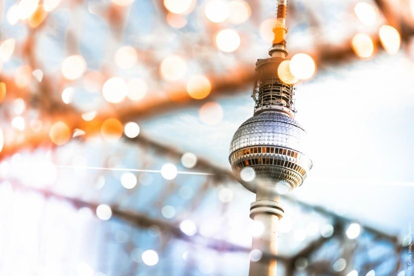 Televizní věž na Alexanderplatz