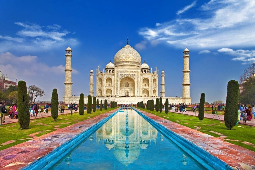 Tádž Mahal (Ágra, Indie)