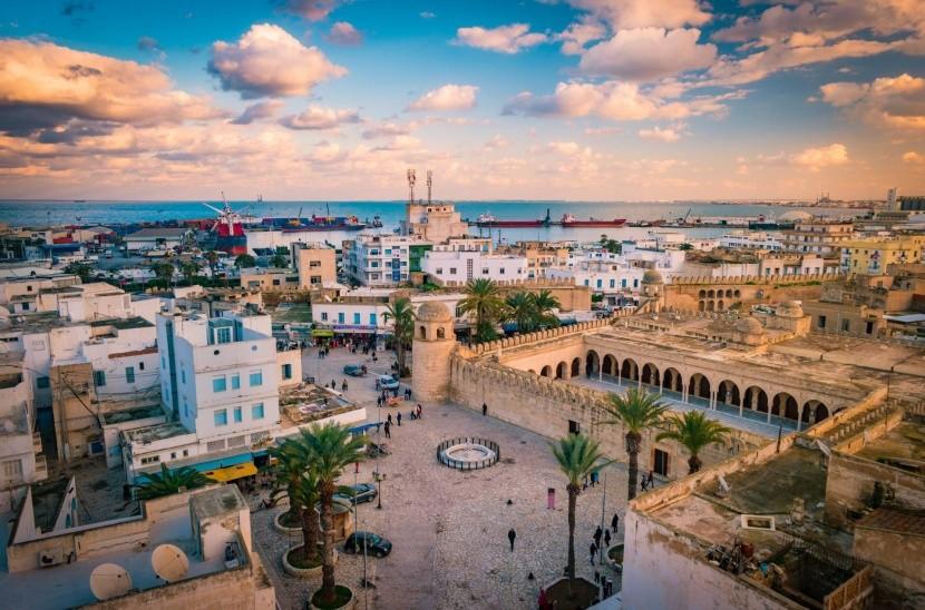 Západ slunce v Sousse