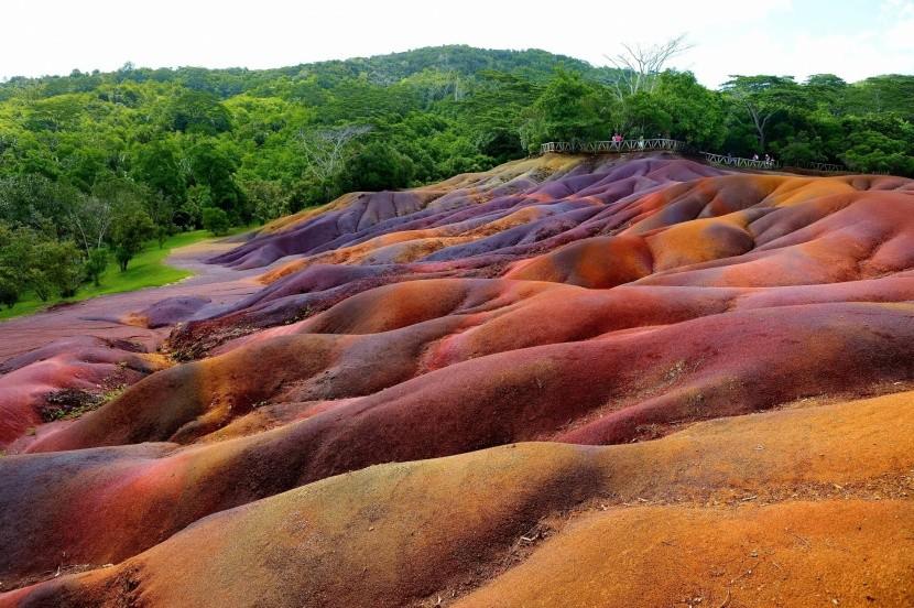 Chamarel - sedmibarevná země na Mauriciu