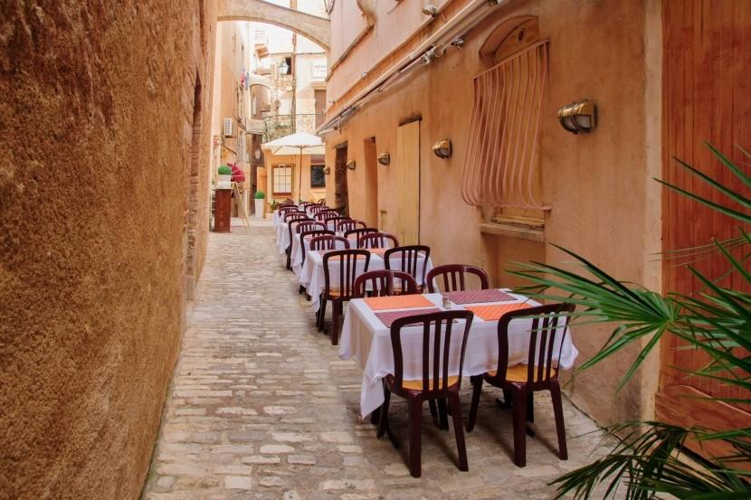 Malebné uličky Starého města, Bonifacio