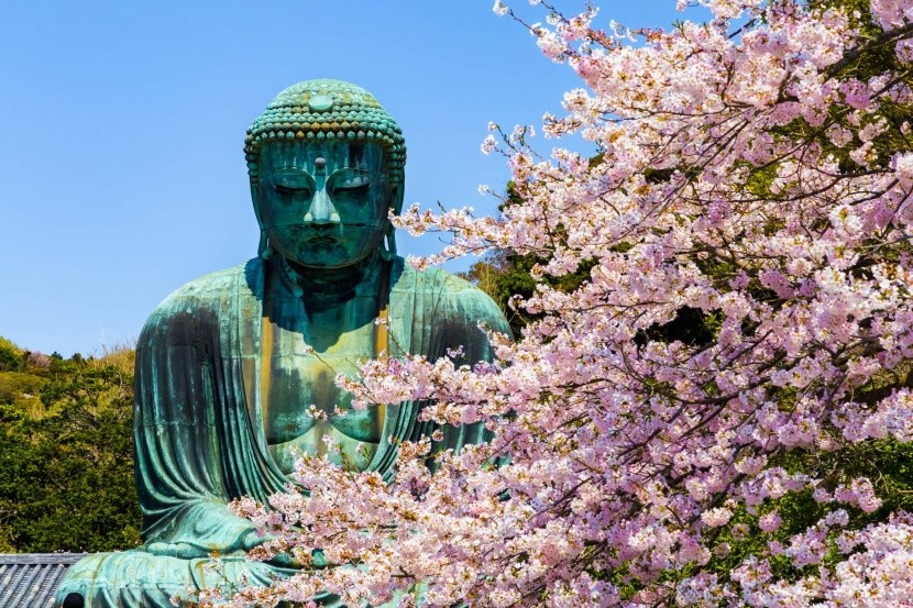 Buddha ve městě Kamakura