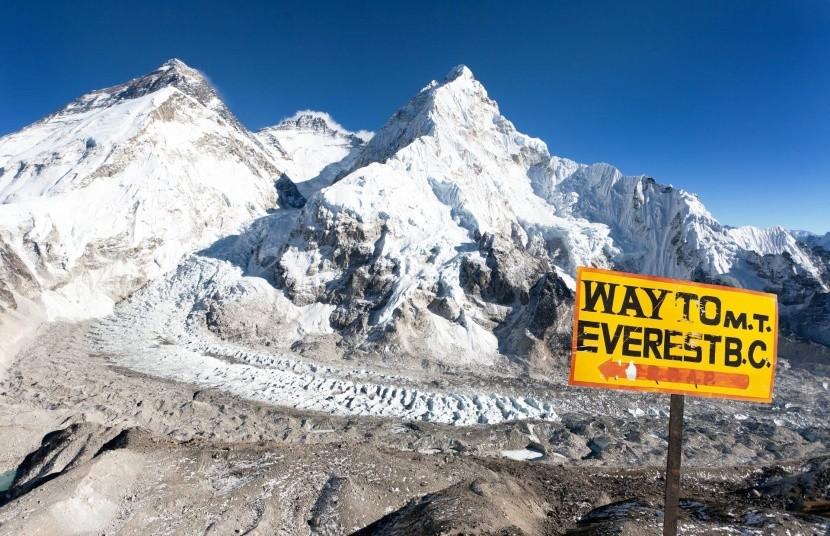 K základnímu táboru Mt. Everestu