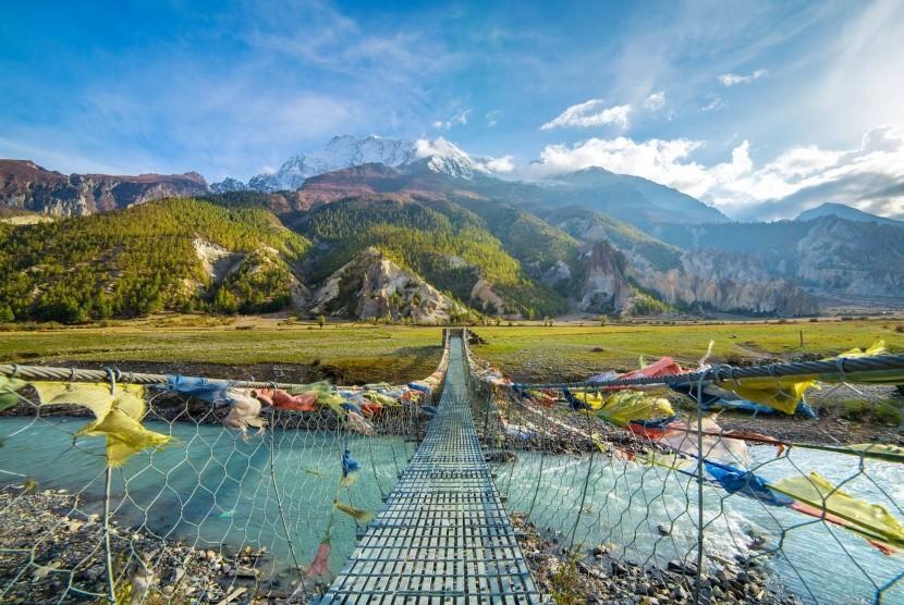 Trek kolem Annapuren