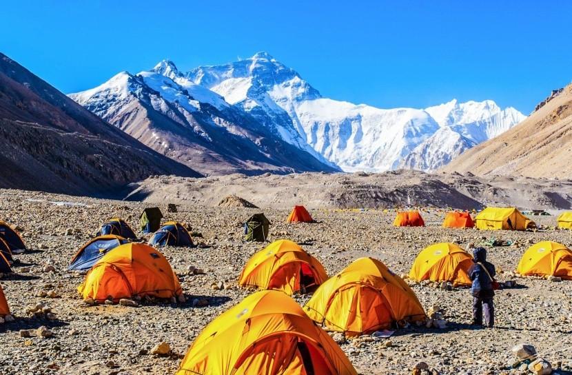 Základní tábor Mt. Everestu (5200 m)