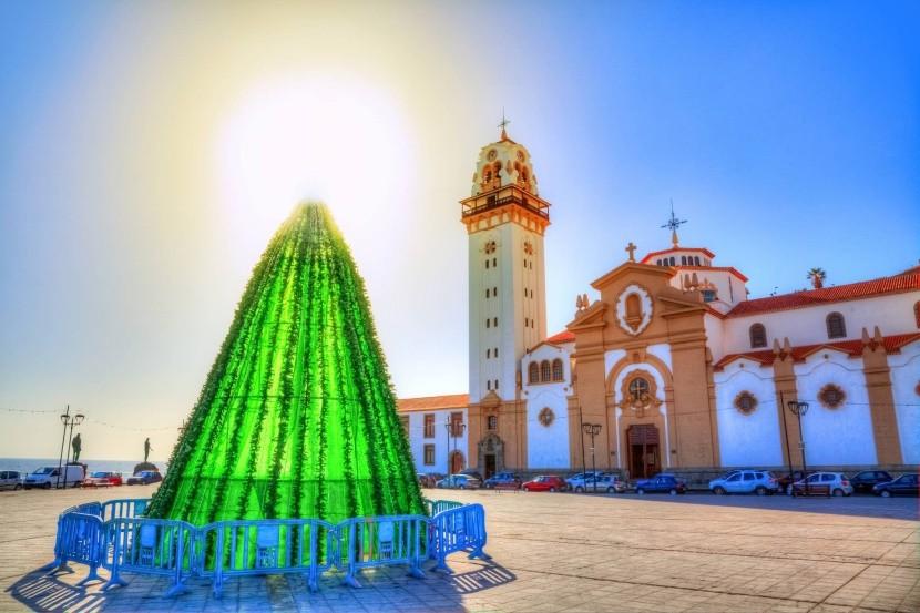 Vánoce v Santa Cruz de Tenerife