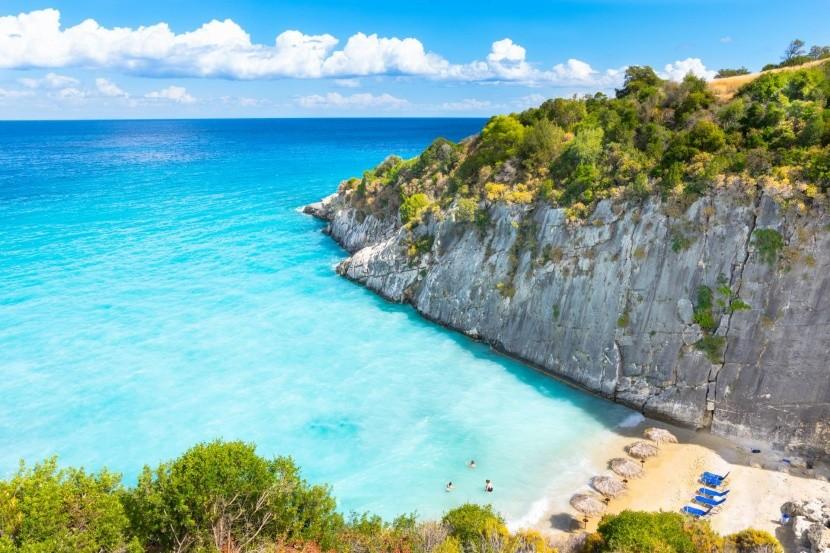 Pláž Xigia, Zakynthos