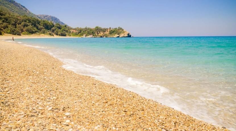 Pláž Megalo Seitani, Samos