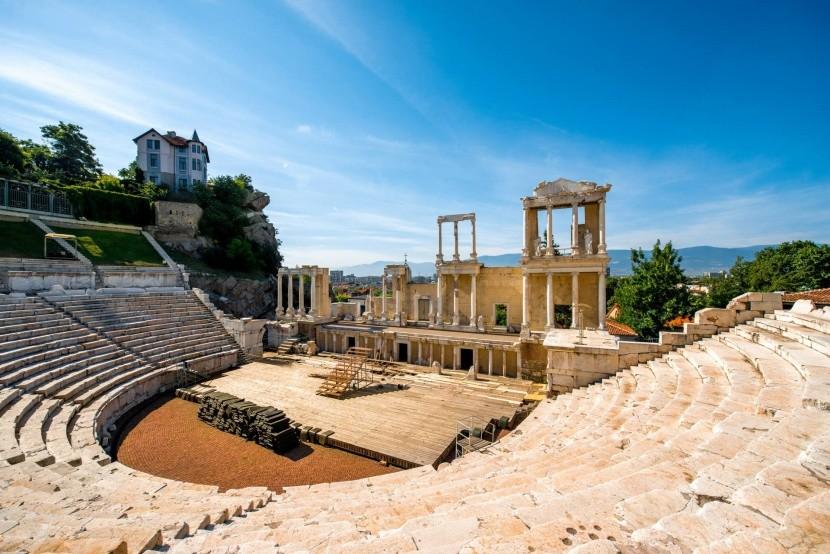 Římský amfiteátr v Plovdivu