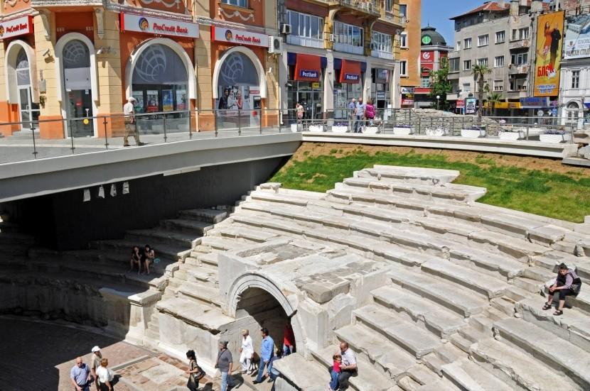 Starověký stadion v Plovdivu