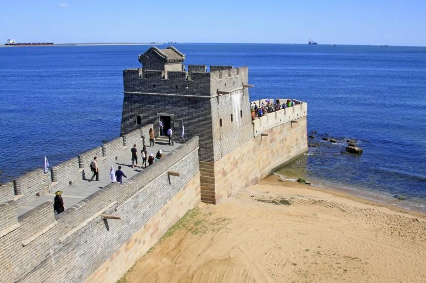 Východní konec zdi v Šan-chaj-kuanu
