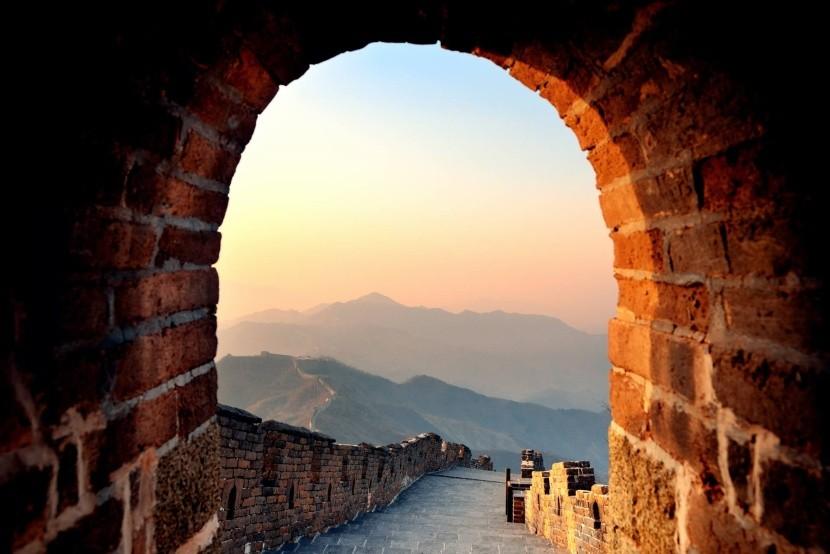 Svítání na Velké čínské zdi