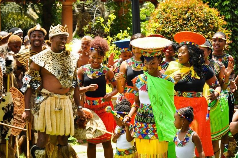Tradiční jihoafrická svatba