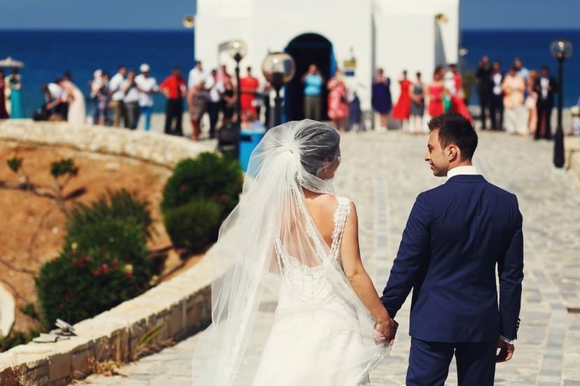 Řecké svatby se slaví ve velkém