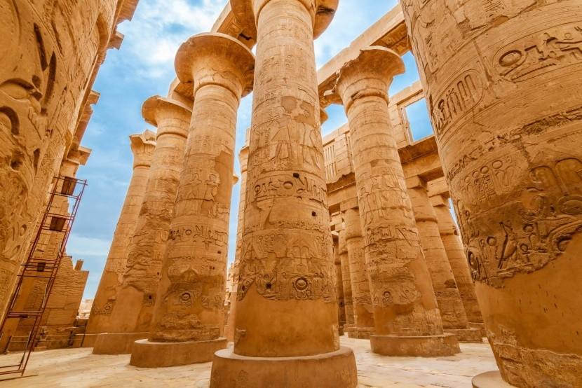 Chrámový komplex Karnak v Luxoru