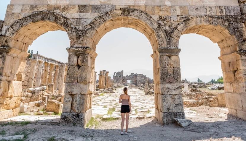 Byzantská brána v Hierapolisu