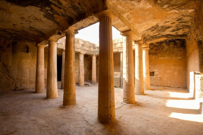 Královské hrobky v Pafosu