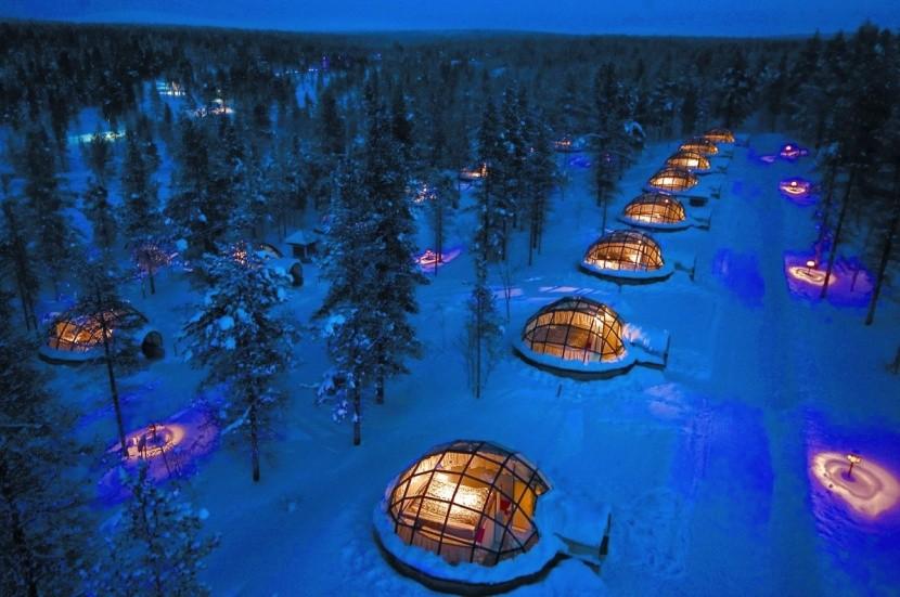 Kakslauttanen Arctic Resort, Finsko
