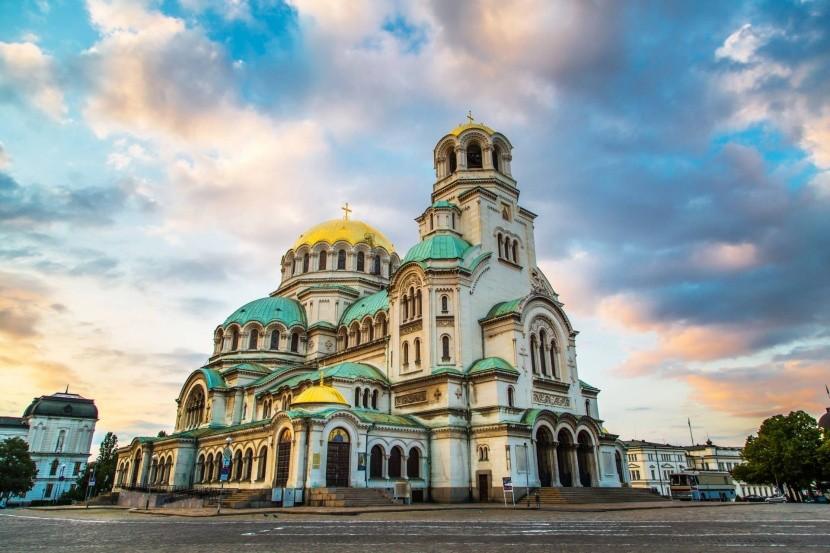 Katedrála v centru Sofie