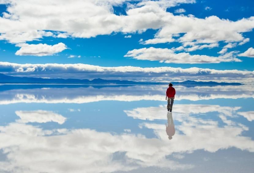 Salar de Uyuni, Bolívie